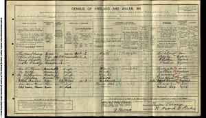 Henry Wolf 1911 census