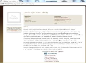 Debbie Dixon RIP 2012 a