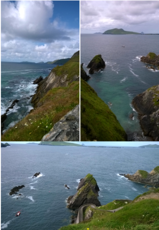 Blasket collage